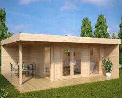Aiamaja terrassiga Hansa Lounge XL