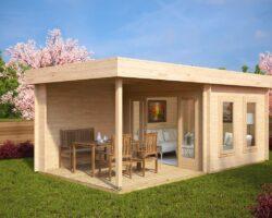 Contemporary-Garden-Log-Cabin-with-Veranda-Lucas-E