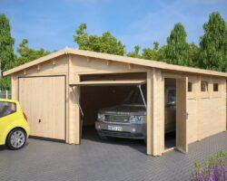 Lai puidust garaaž