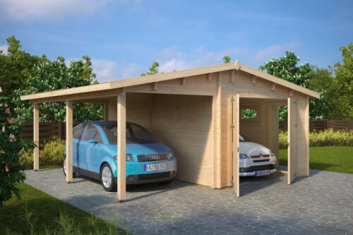 Garaaž + katusealune