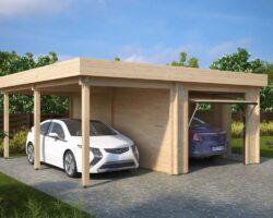Auto varjualune + garaaž