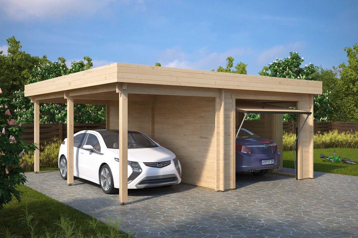 Garaa h varjualusega lesk iva uksega 31m 5 7 x 5 5 m for Garage rouergue auto 12