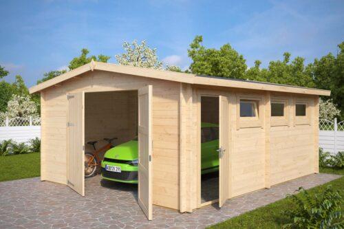 Suur garaaž aeda