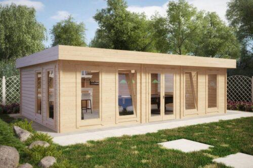Suur puidust aiamaja