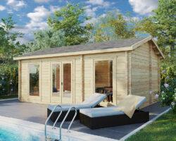 Sweden A jaoks on aias ruumi vaja 6 x 4 m jagu, majas on eluruumi 20m2 ning lisaks on 3m2 suurune vannituba või sahver.