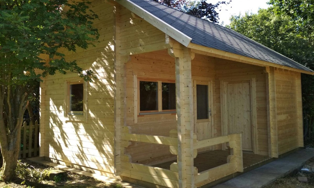 Meie puitmajakomplektid suvila ehituseks
