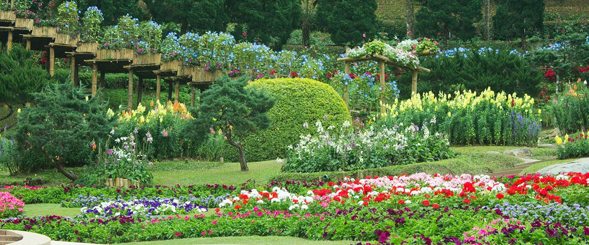Aiamaja keset rohelust - hästi hoolitsetud aia eelised